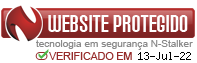 Selo Website protegido
